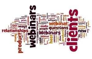 Webinars Word Cloud