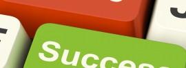 Failure Success keys on keyboard image